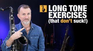 long tone exercises