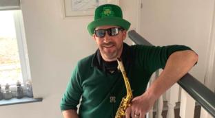 Greg is Sax School Legend learning saxophone online with Sax School