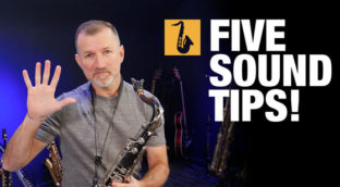 Five tips for better saxophone sound