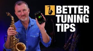 Better tunings tips for sax by Nigel McGill