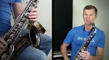 Saxophone Advanced Jazz Ballads by Nigel McGill