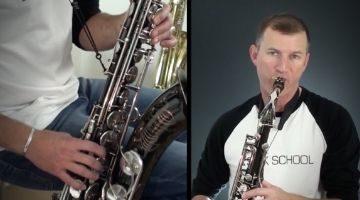 Saxophone Advanced Pop Tunes by Nigel McGill