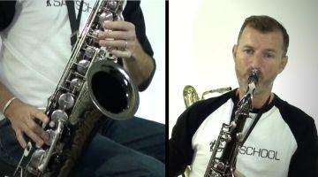 Classic pop tunes in Saxophone by Nigel McGill