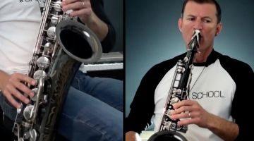 Easy Fun Tunes on Saxophone by Nigel McGill