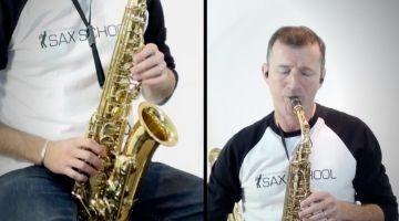 Easy Jazz ballad Saxophone tunes by Nigel McGill