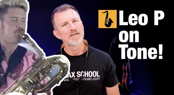 Leo Pellegrino how to get a better saxophone tone
