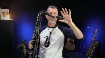 Sax School Q and A session with Nigel McGill