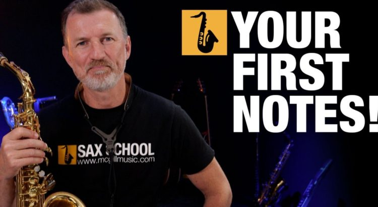 Saxophone Lesson Beginner Saxophone First Notes