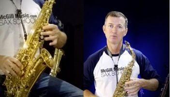 Saxophone gospel songs by Nigel McGill
