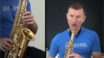 Intermediate Big Band Songs on Saxophone by Nigel McGill