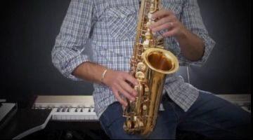 Saxophone Intermediate Jazz Standards by Nigel McGill