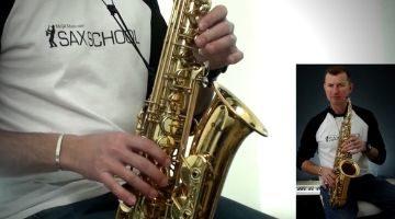 Intermediate Saxophone Solos by Nigel McGill