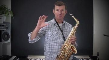 Saxophone movie and tv tunes by Nigel McGill