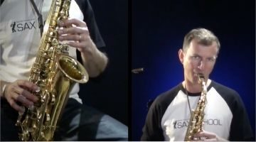 Soul and Motown Saxophone Tunes by Nigel McGill
