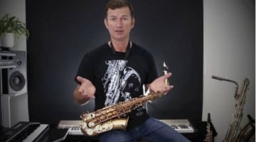 Saxophone warm up course by Nigel McGill