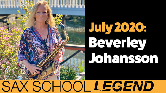 Beverley's system for saxophone practice success