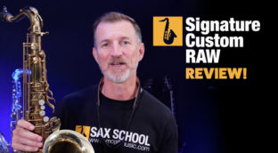 What is the best tenor saxophone signature custom raw review
