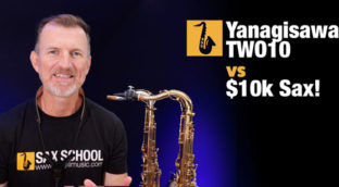 what is the best tenor saxophone yanagisawa WO10 vs $10k solid silver