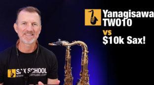what is the best tenor saxophone yanagisawa WO10 vs $10k solid silver