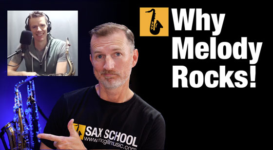 Why focus on melody will improve your sax playing with BeatBox SAX Derek Brown