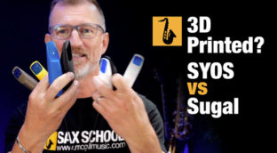 3D printed mouthpieces for saxophone