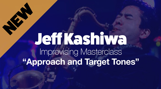 Improvising Masterclass: Approach and target tones with Jeff Kashiwa