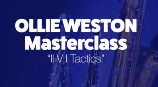 Ollie Weston Masterclass