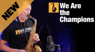 We Are The Champions on sax by Nigel McGill