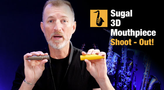 Sugal 3D printed mouthpieces comparison