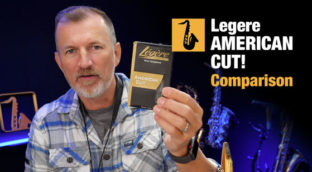 Nigel McGill of Sax School tests Legere American Cut synthetic saxophone reeds