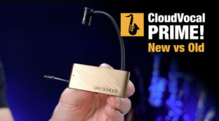 Nigel McGill Sax School reviews the Cloudvocal Prime Wireless sax microphone
