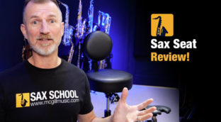 Nigel McGill Sax School reviews the Sax Seat