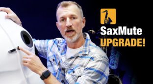 Nigel McGill from Sax School on his SaxMute One upgrade