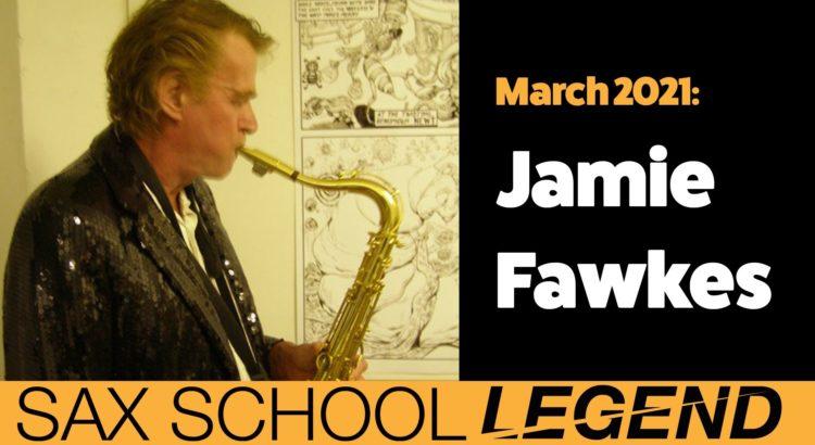 Sax School Legend Jamie develops his saxophone skills with Sax School
