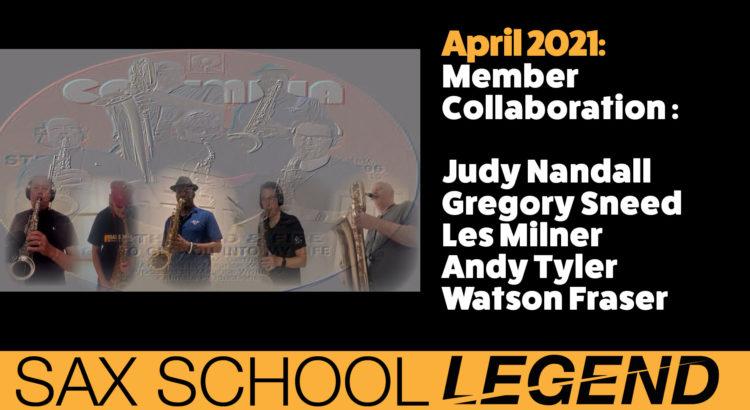 Sax School Collaboration legends