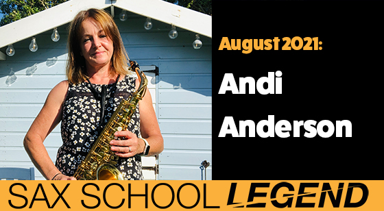 Andi makes amazing progress on saxophone after only 18 months learning with Sax School Online.