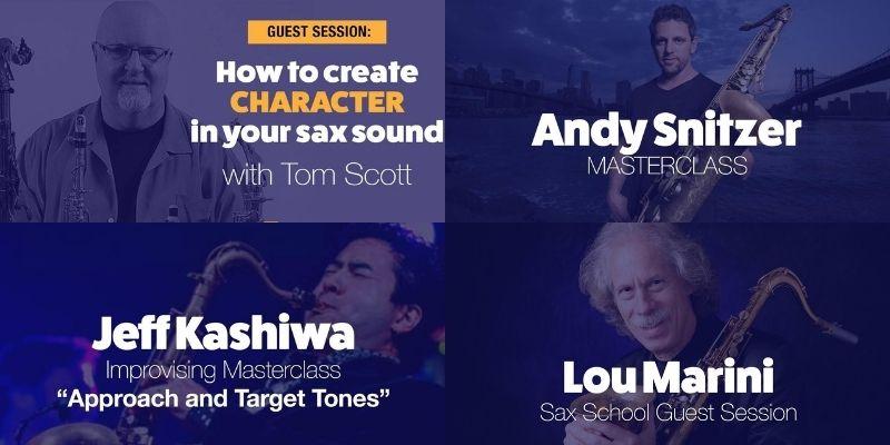 saxschoolonline masterclass guest sessions