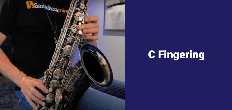 How to play B flat on saxophone alternate fingerings C