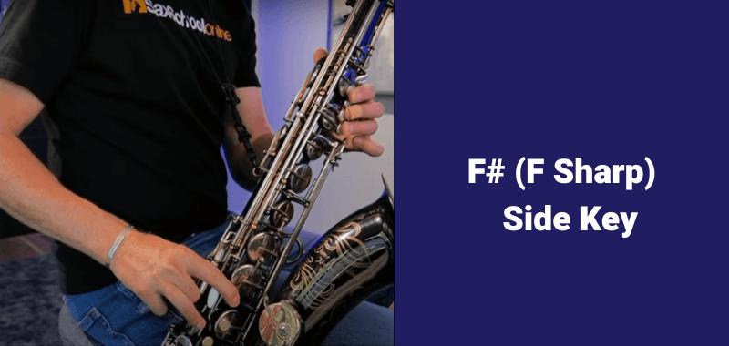 How to play B flat on saxophone alternate fingerings F sharp side keyy