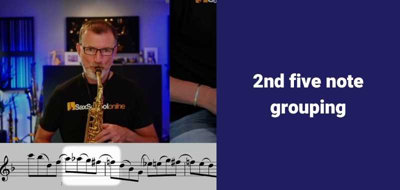 second five note grouping