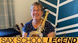 flute teacher Susan makes amazing saxophone videos and is Sax School Legend