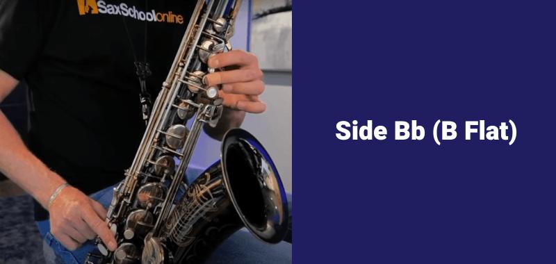 How to play B flat on saxophone side B flat