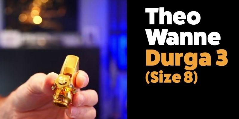 Theo Wanne Durga 3 Soprano saxophone mouthpiece
