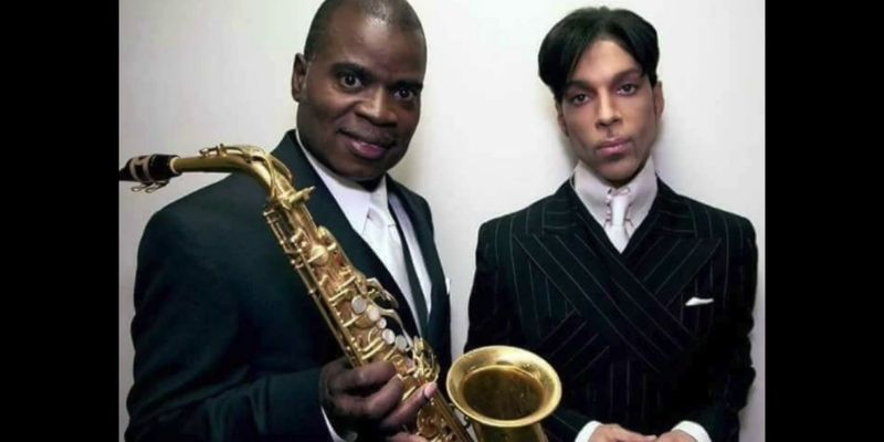 Maceo Parker and Prince